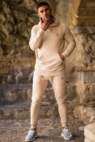 Aces Couture Slim Joggers - Stone - 1