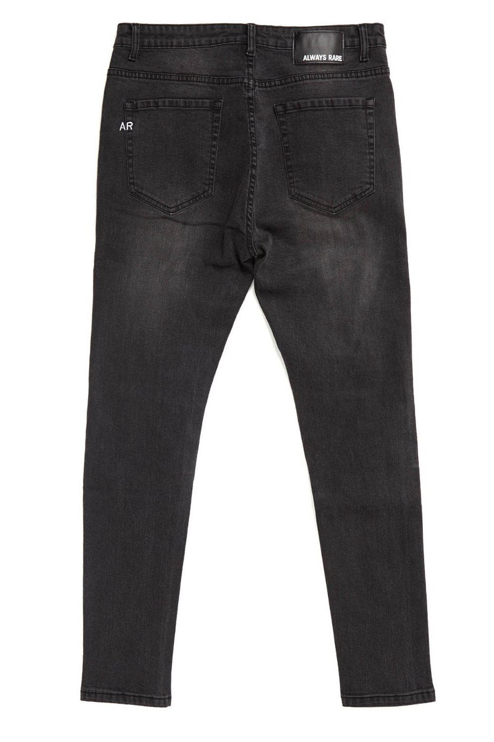 Always Rare Ripped Vincent Jeans - Black - 2