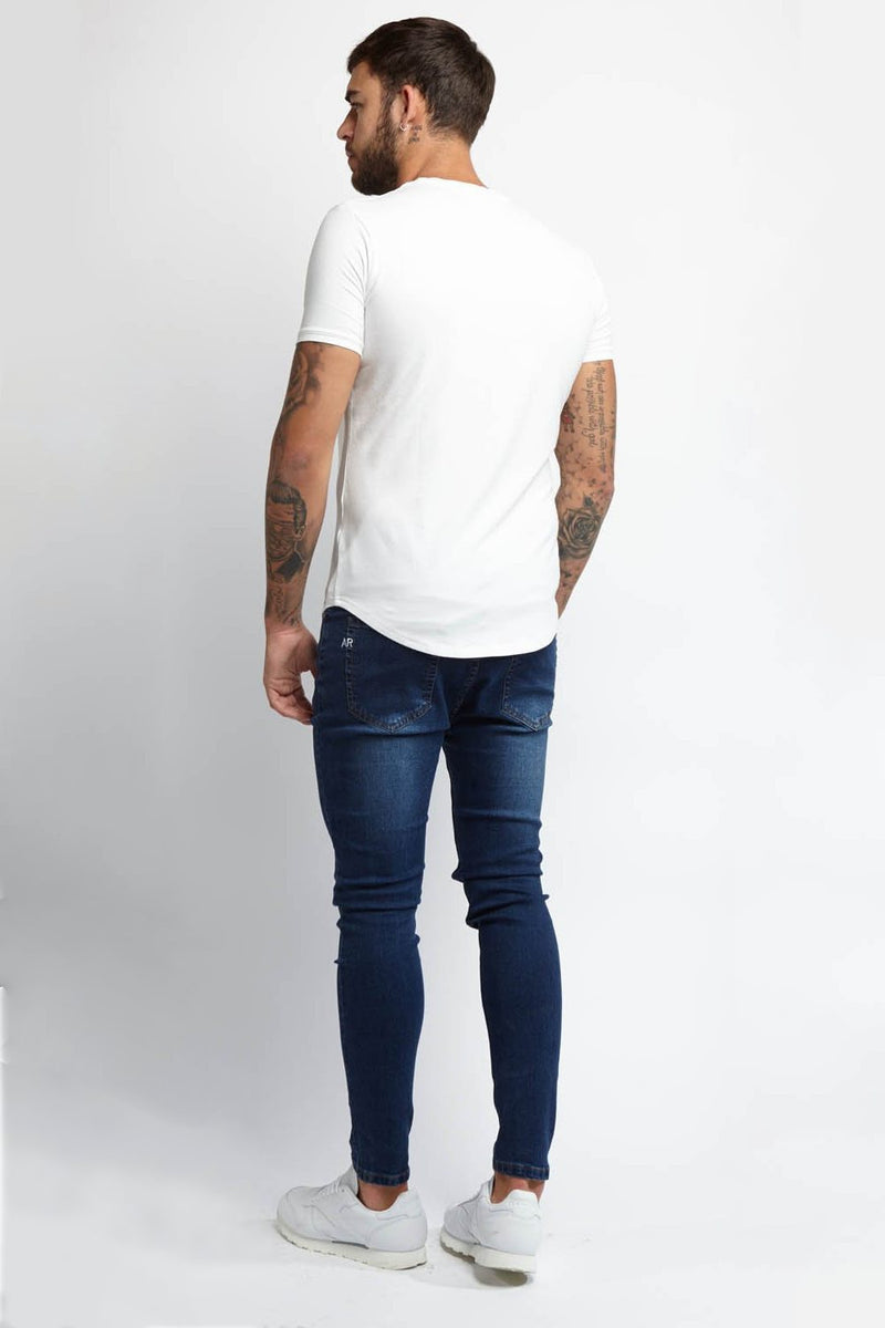 Always Rare Ripped Vincent Jeans - Indigo - 2