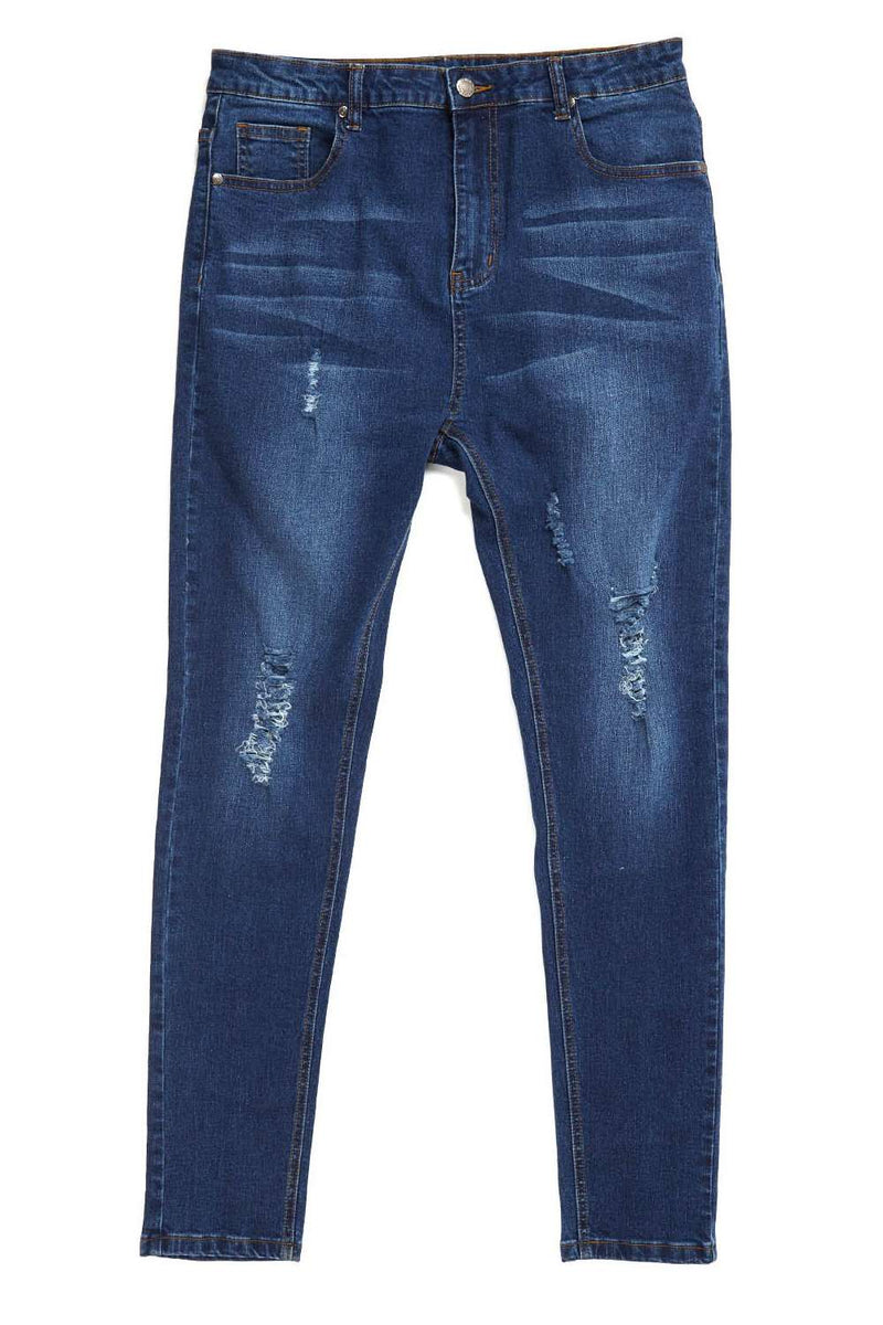 Always Rare Ripped Vincent Jeans - Indigo - 3