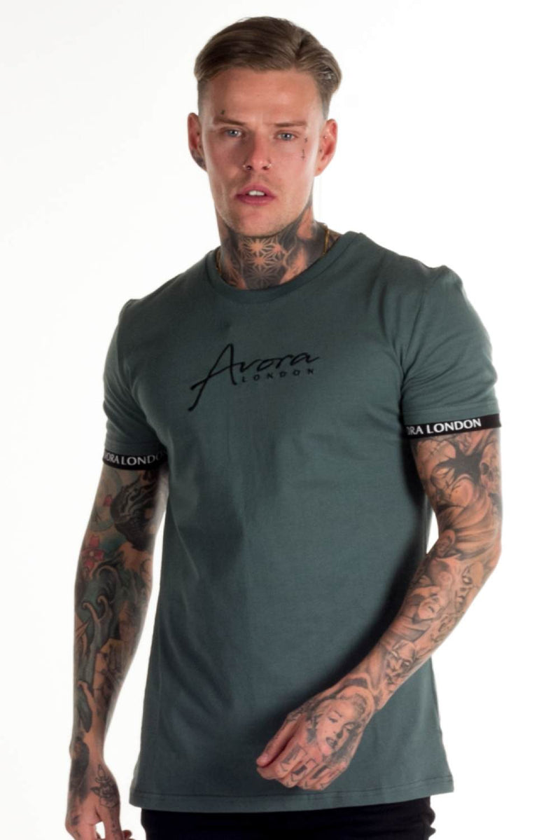 Avora London Zane T-Shirt - Khaki - 2