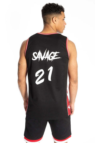 BADR Sport Basketball Vest Savage - Black - 1