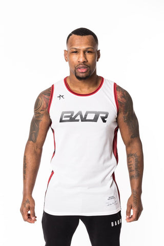 BADR Sport Basketball Vest Savage - White