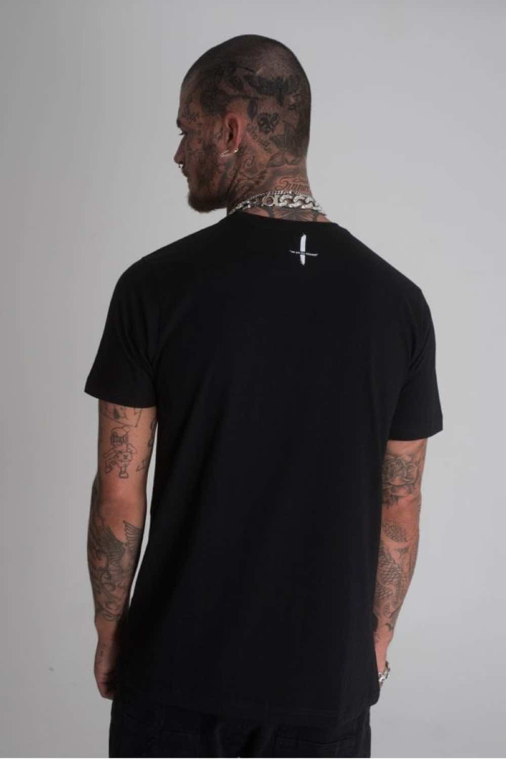 Blessed Rotty T-Shirt - Black - 1