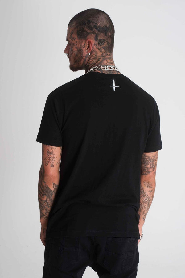 Blessed Knuckles T-Shirt - Black - 1