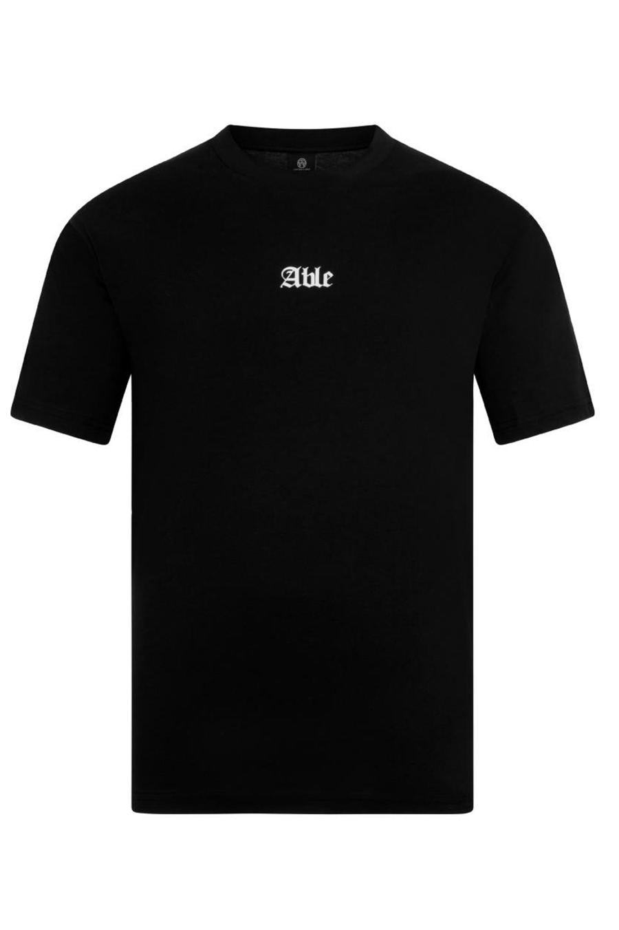 Chained & Able Brand T-Shirt - Black - 2