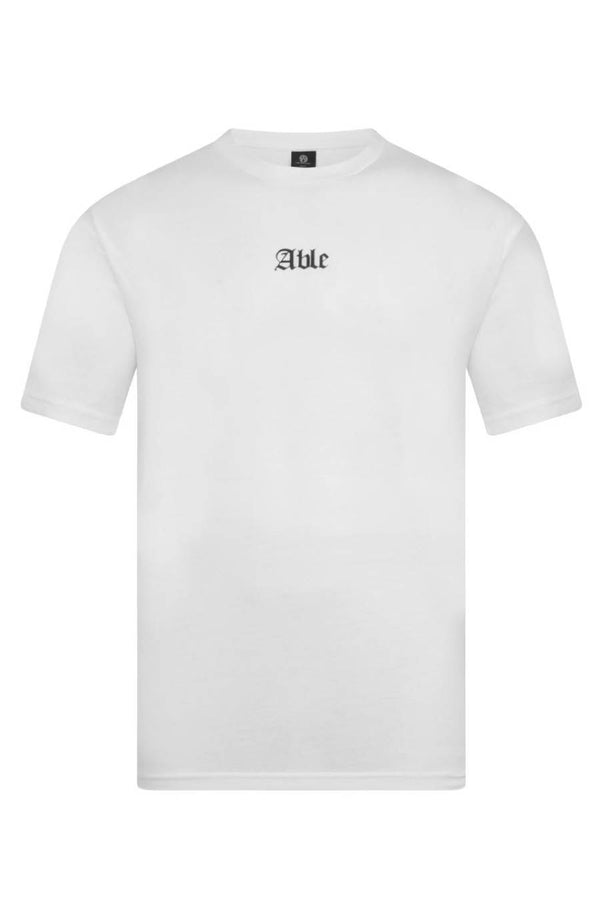 Chained & Able Brand T-Shirt - White - 1