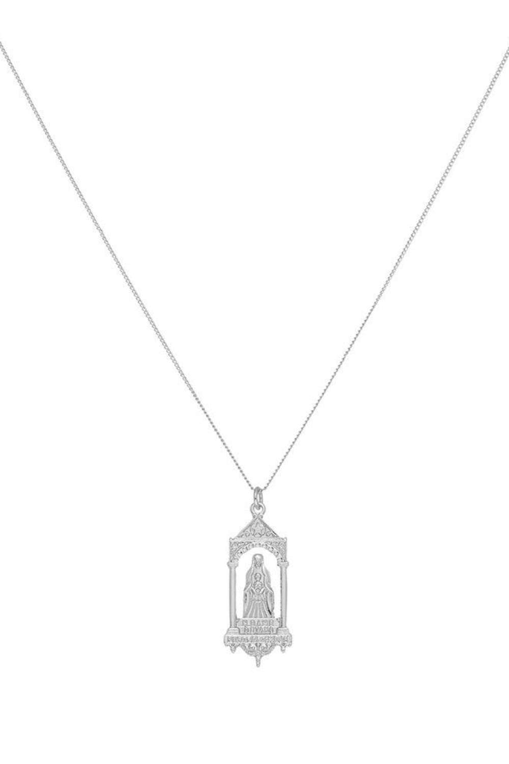 Chained & Able Faith Detail Tag - Silver