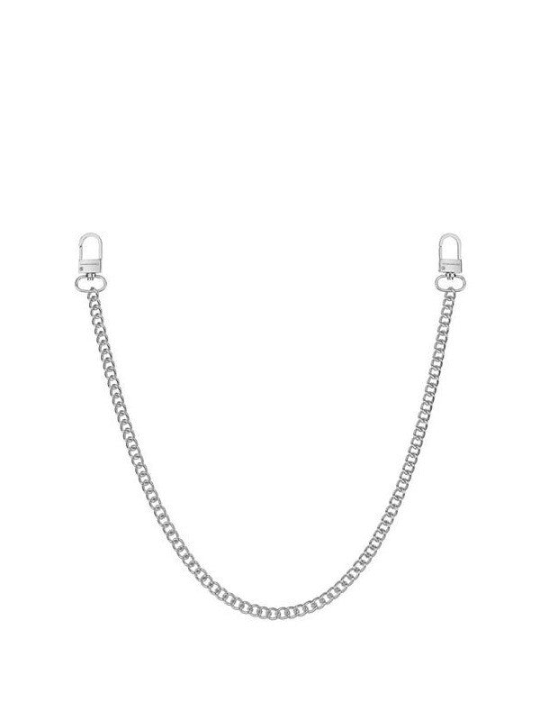 Chained & Able Single Curb Jean Chain - Silver