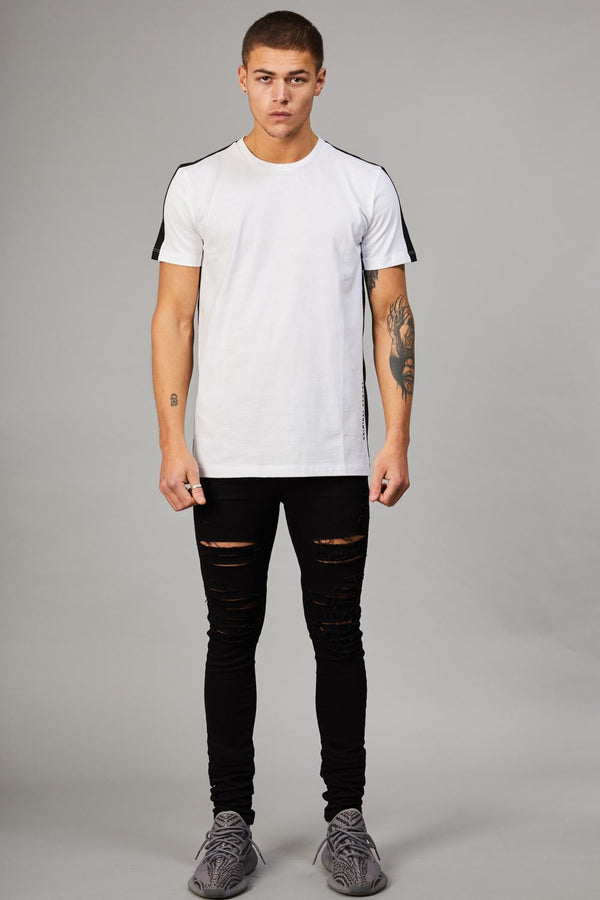 Criminal Damage Carnaby Tee - White - 1
