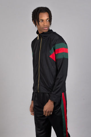 Criminal Damage Cuccio Track Top - Black