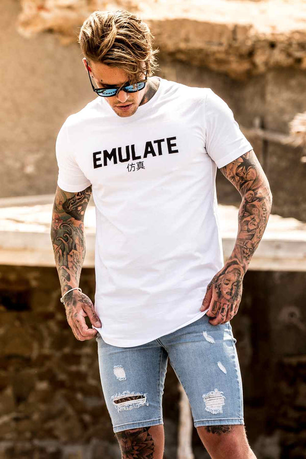 Emulate Clothing Akita T-Shirt - White