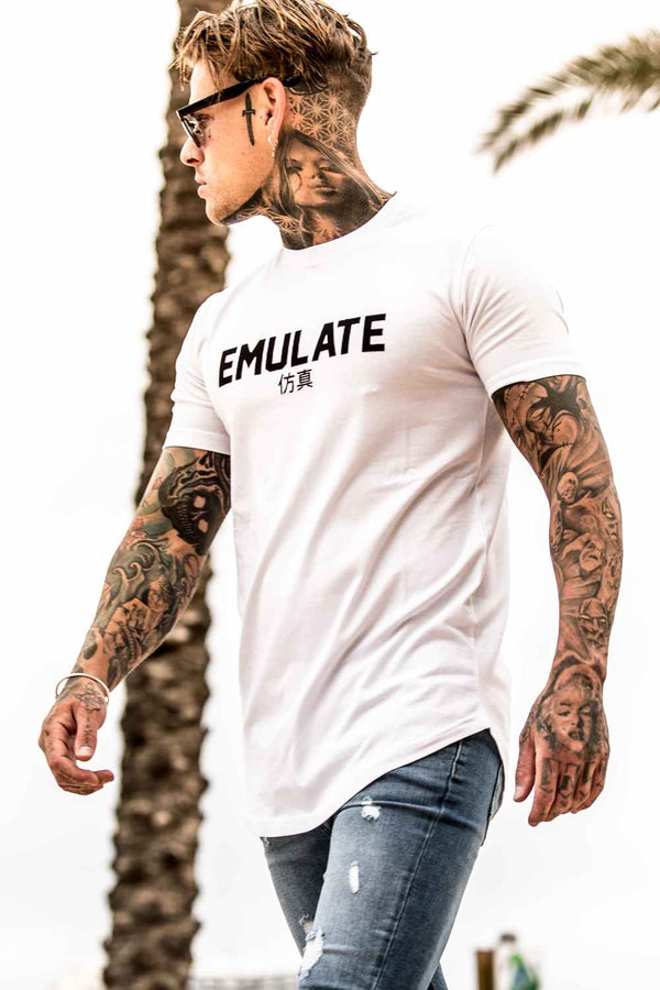 Emulate Clothing Akita T-Shirt - White - 3