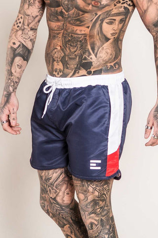 Emulate Clothing Matteo Swim Shorts - Navy - 1