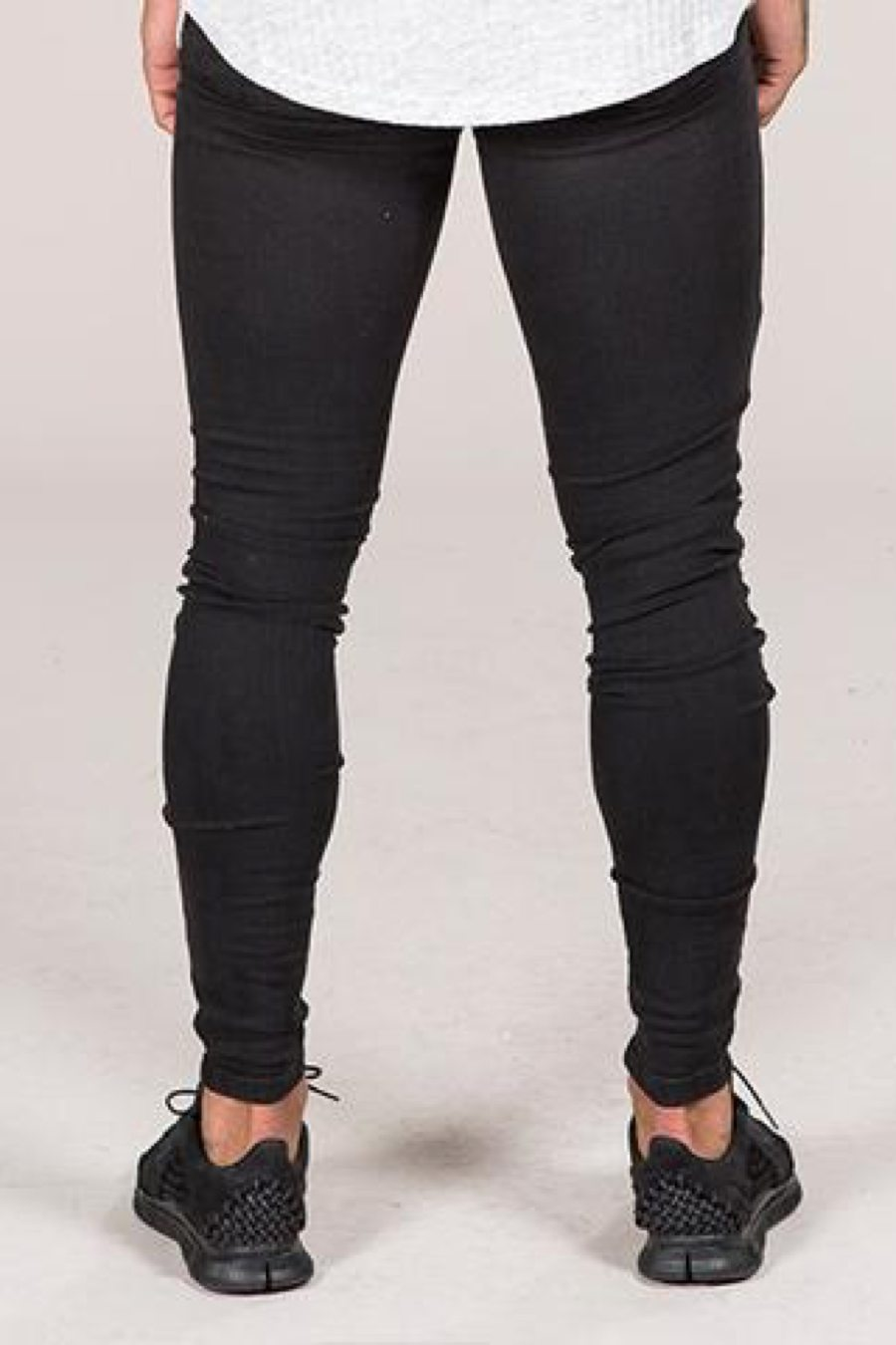 Emulate Marquee Ripped Skinny Jeans - Black - 2
