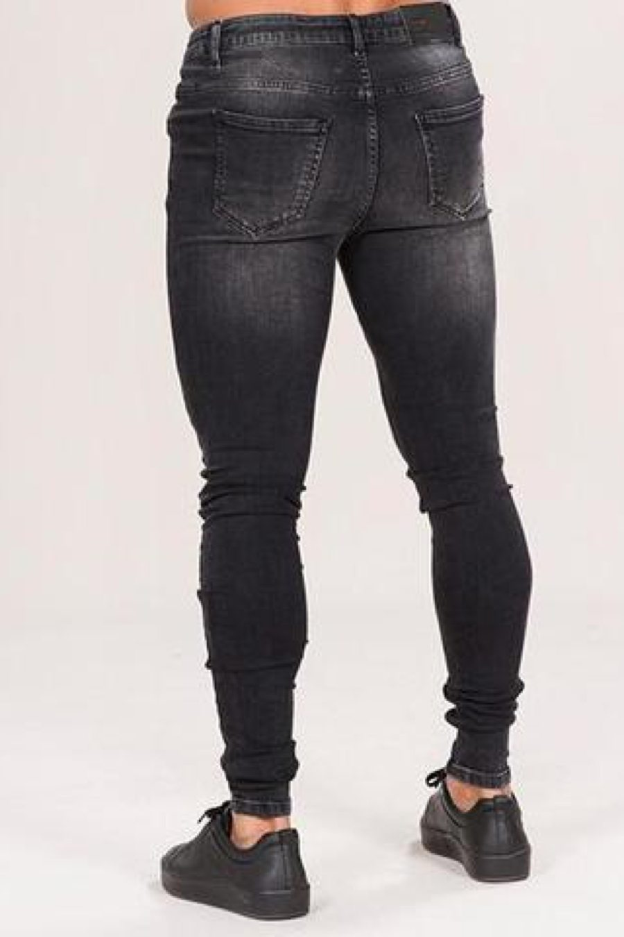 Emulate Marquee Ripped Skinny Jeans - Black Wash - 2