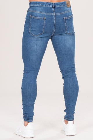 Emulate Marquee Ripped Skinny Jeans - Dark Wash - 1