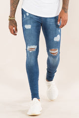Emulate Marquee Ripped Skinny Jeans - Dark wash - 2