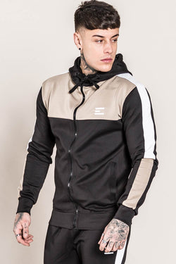Emulate Onyx Tracksuit Set - Black/Sand - 2