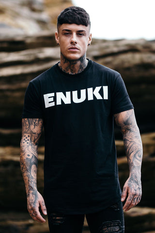 Enuki London Brand Carrier Tee - Black - 4