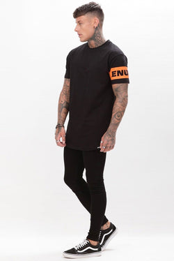 Enuki London Luxe T-Shirt - Black