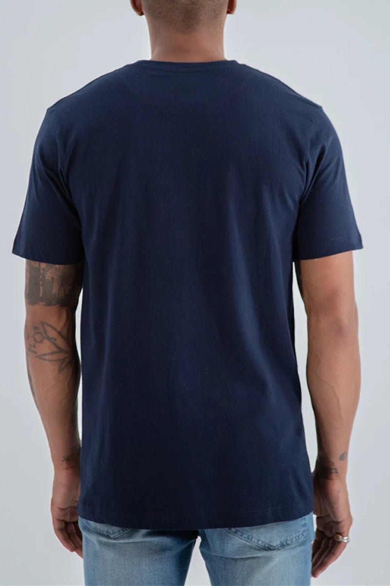 Fresh Ego Kid Small  Box Logo T-Shirt - Navy - 2