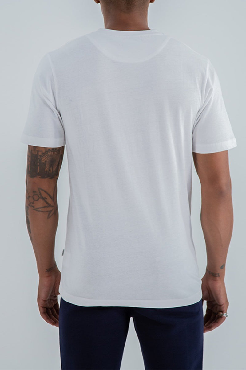 Fresh Ego Kid Heritage Logo T-Shirt - White - 3