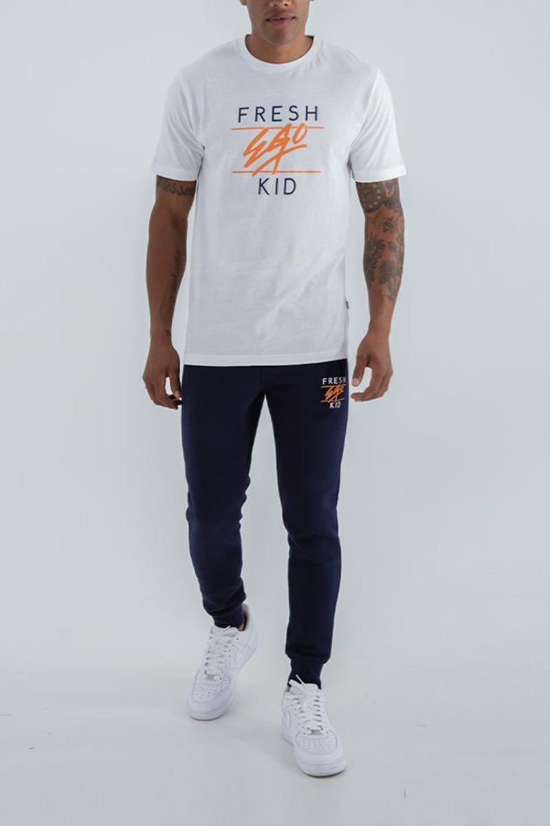 Fresh Ego Kid Heritage Logo T-Shirt - White - 2