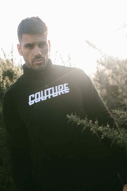 Fresh Couture Colmar 2.0 Quater Zip - Black