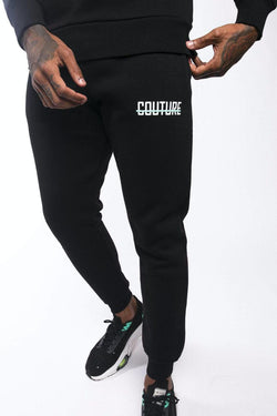 Fresh Couture Strike OG Joggers - Black/Aqua - 1
