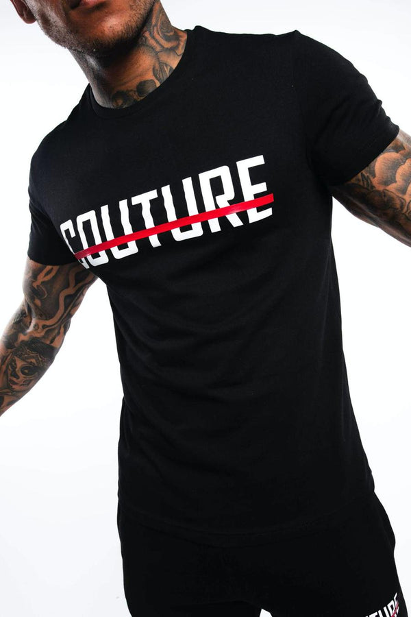 Fresh Couture Strike OG T-Shirt -  Black/Red - 1