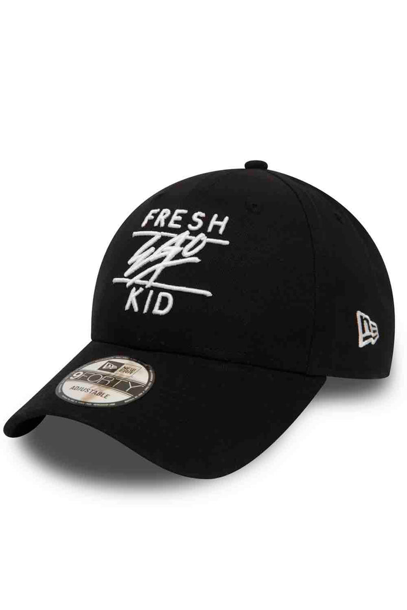 Fresh Ego Kid Cotton New Era Cap - Black