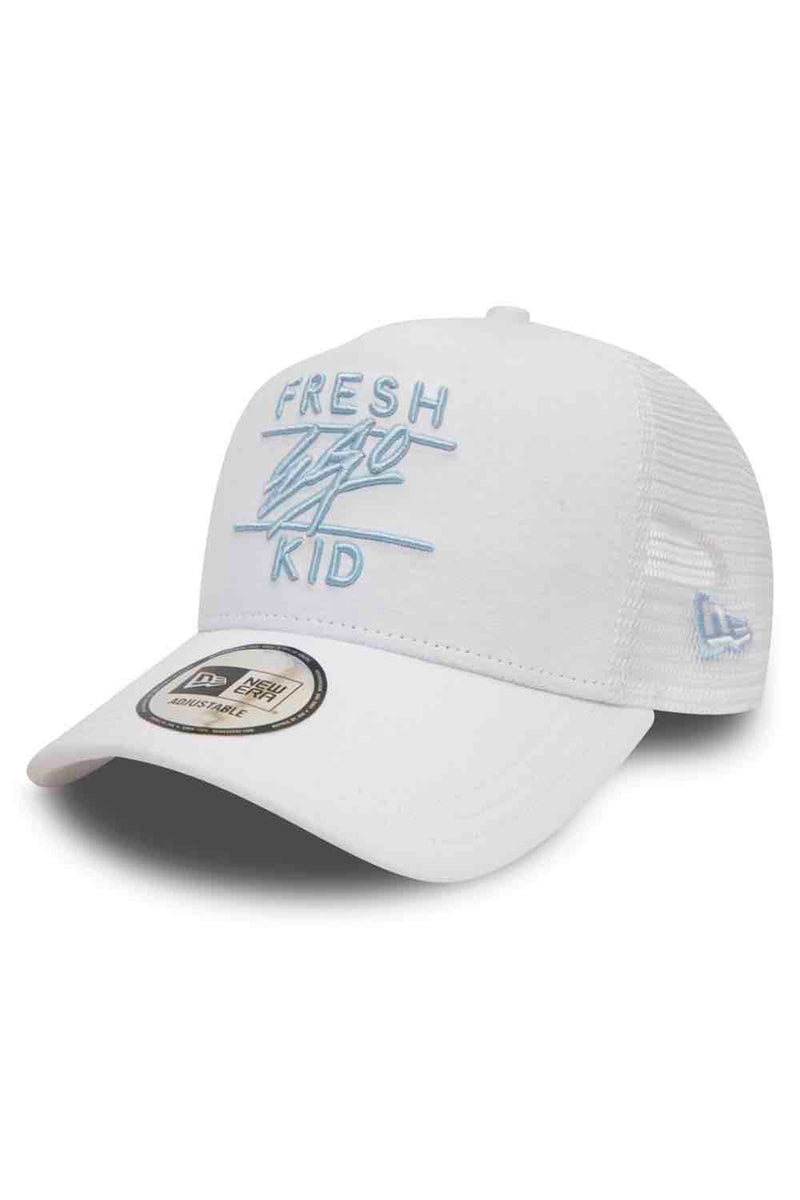 Fresh Ego Kid New Era Cotton Twill Mesh Cap  - White - 1