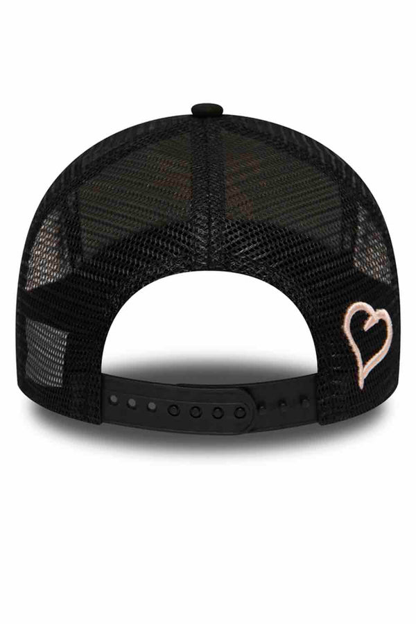 Fresh Ego Kid New Era Mesh Trucker Cap - Black/Rosewater - 3