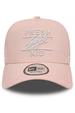 Fresh Ego Kid New Era Cotton Twill Mesh Cap - Rosewater