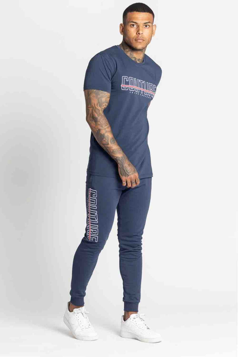 Fresh Couture Bonneval T Shirt - Navy - 3