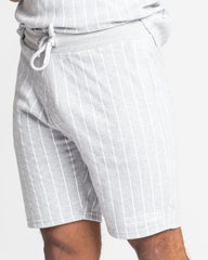 Fresh Couture Brousse Shorts - Grey/White - 2