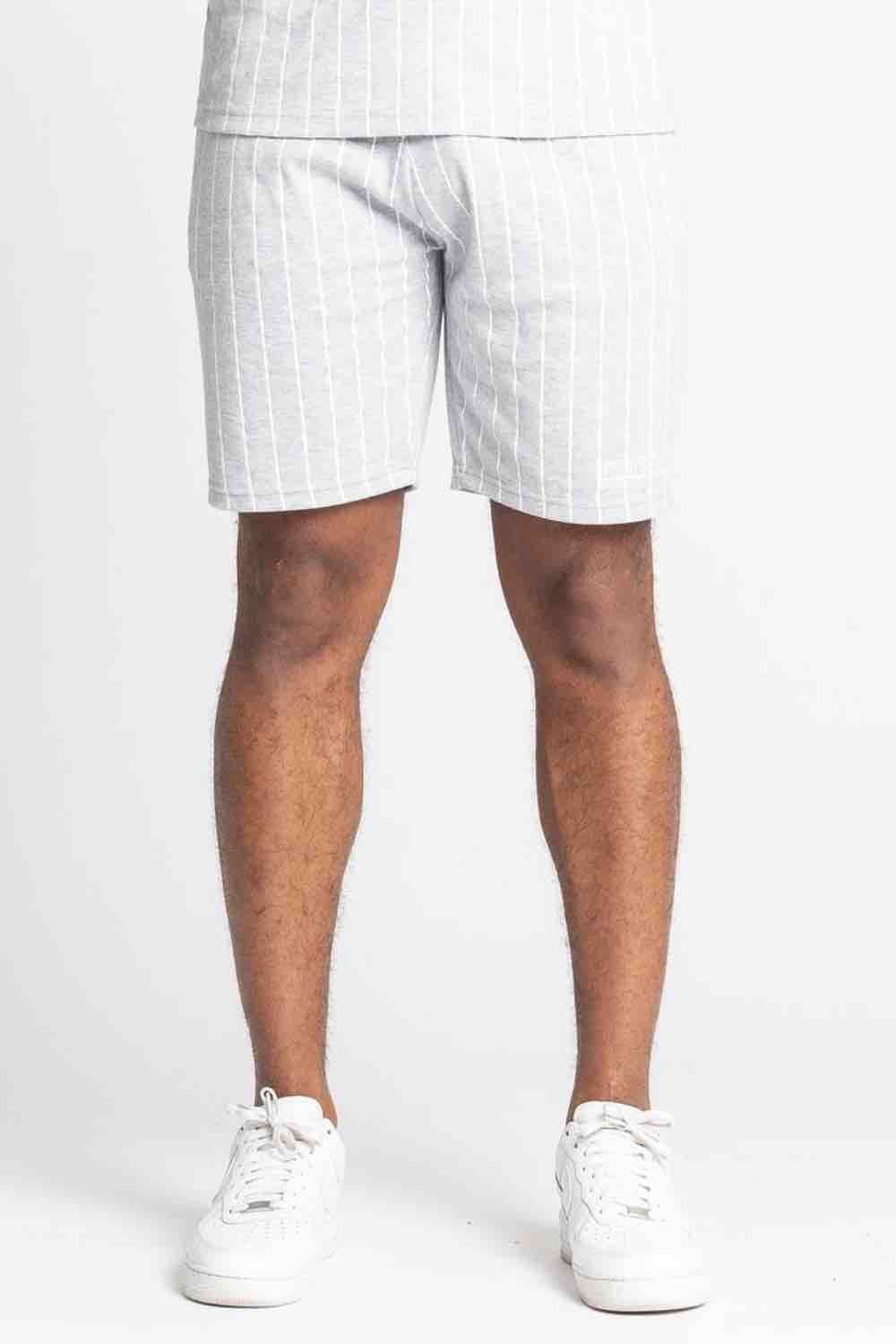 Fresh Couture Brousse Shorts - Grey/White