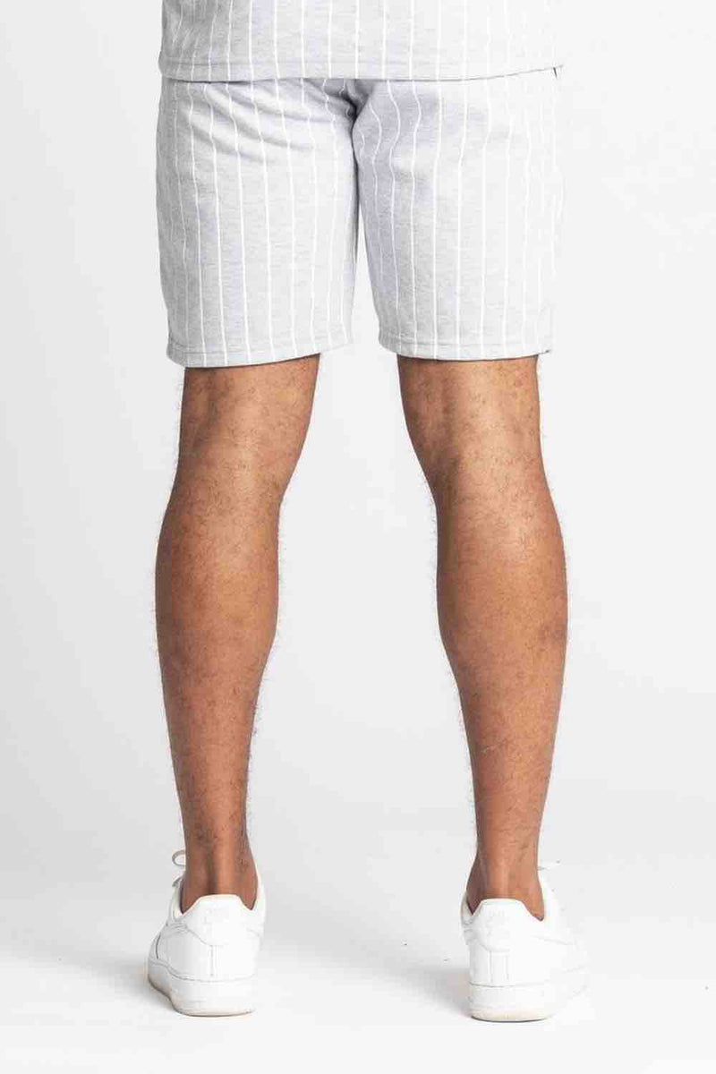 Fresh Couture Brousse Shorts - Grey/White - 3
