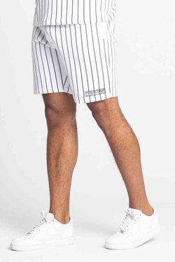 Fresh Couture Brousse Shorts - White/Black