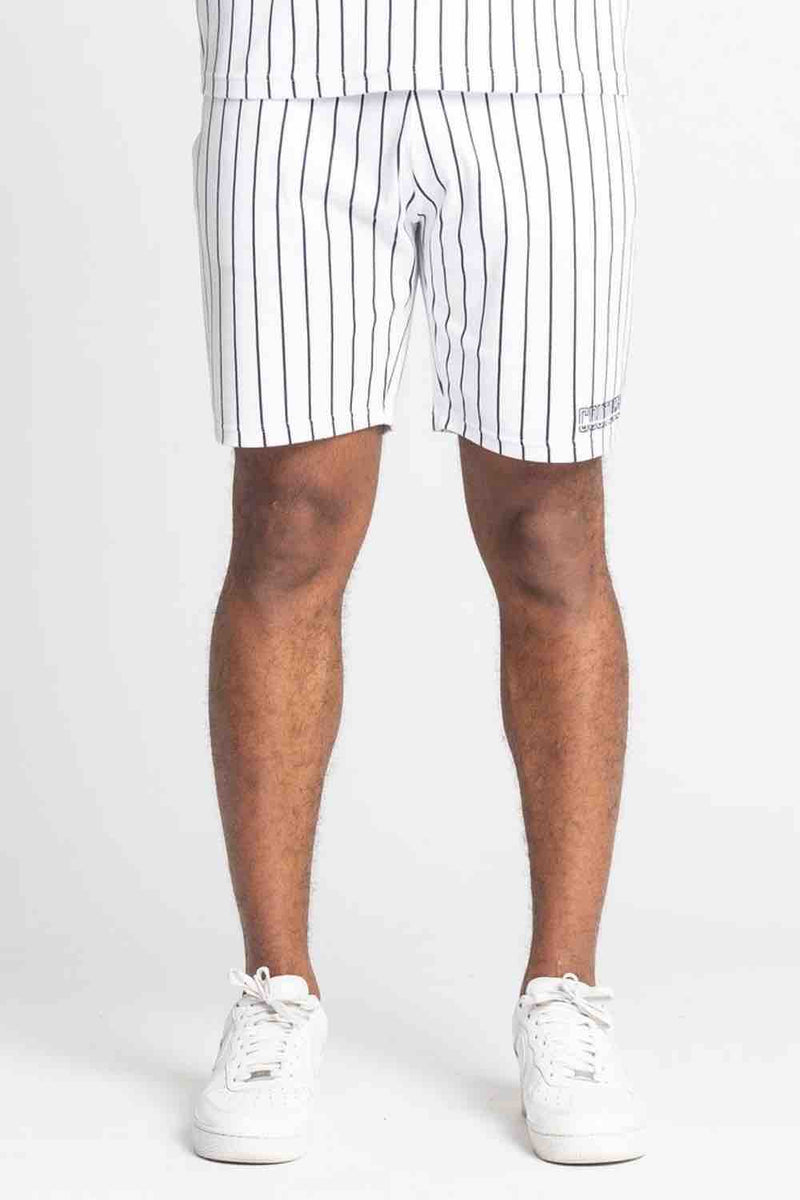 Fresh Couture Brousse Shorts - White/Black - 3