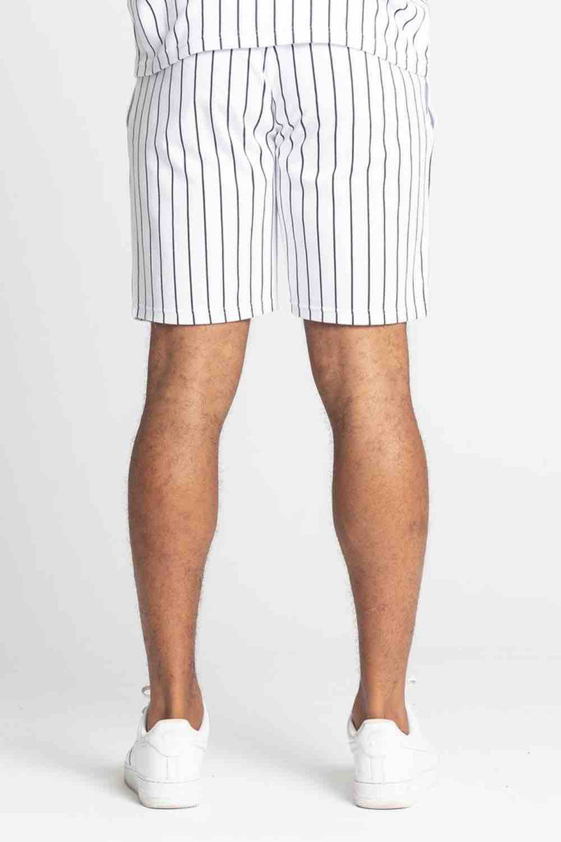 Fresh Couture Brousse Shorts - White/Black - 4