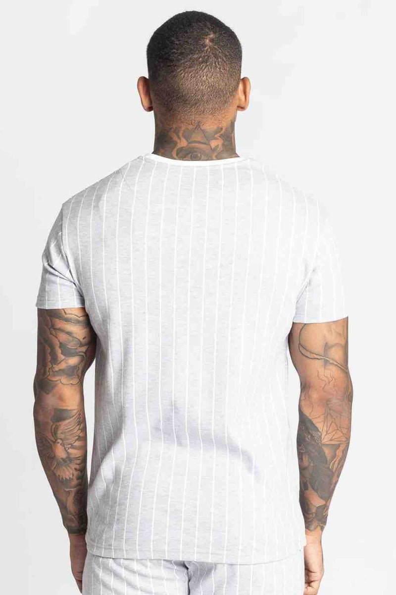 Fresh Couture Brousse T Shirt - Grey/White - 3