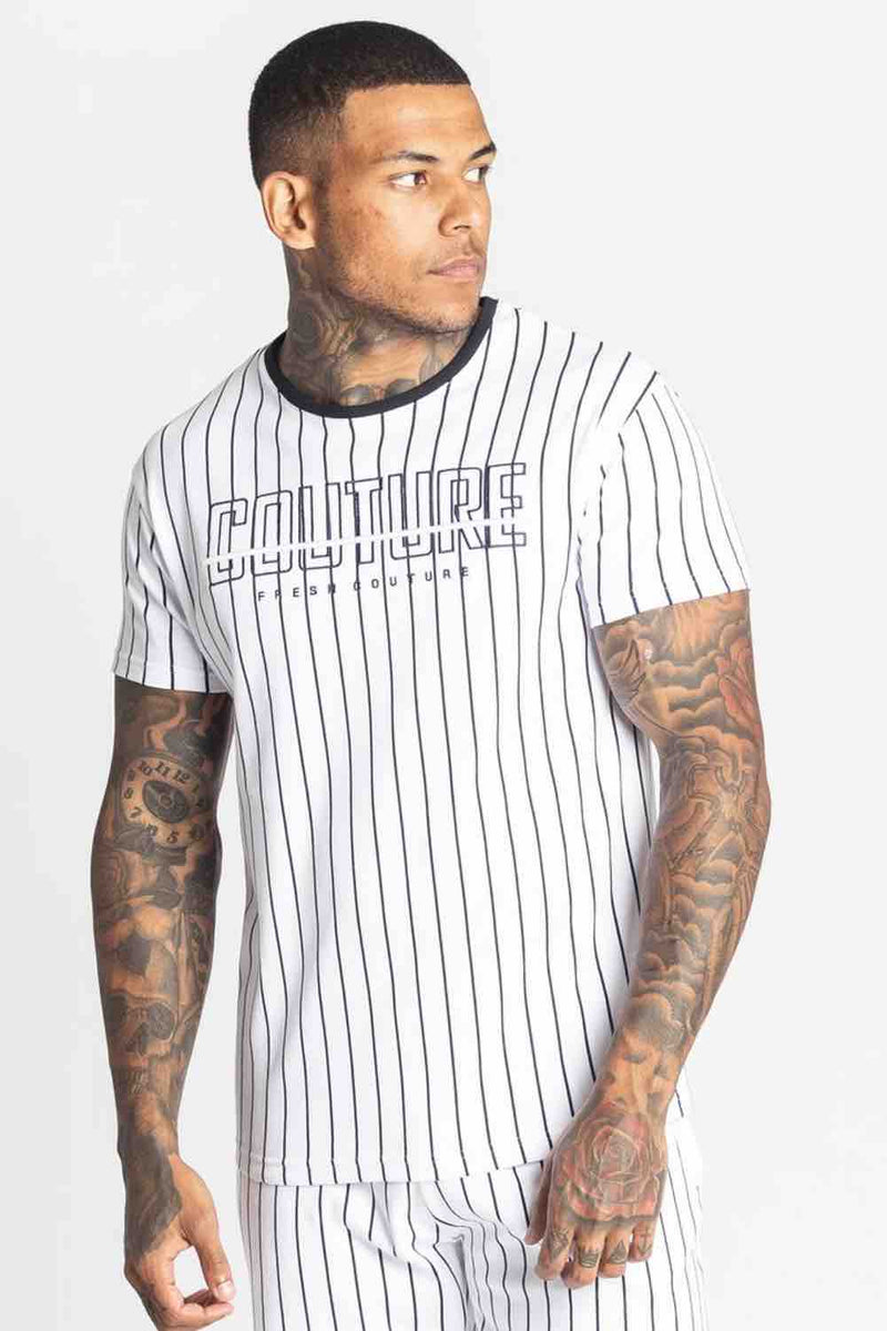 Fresh Couture Brousse T Shirt - White/Black