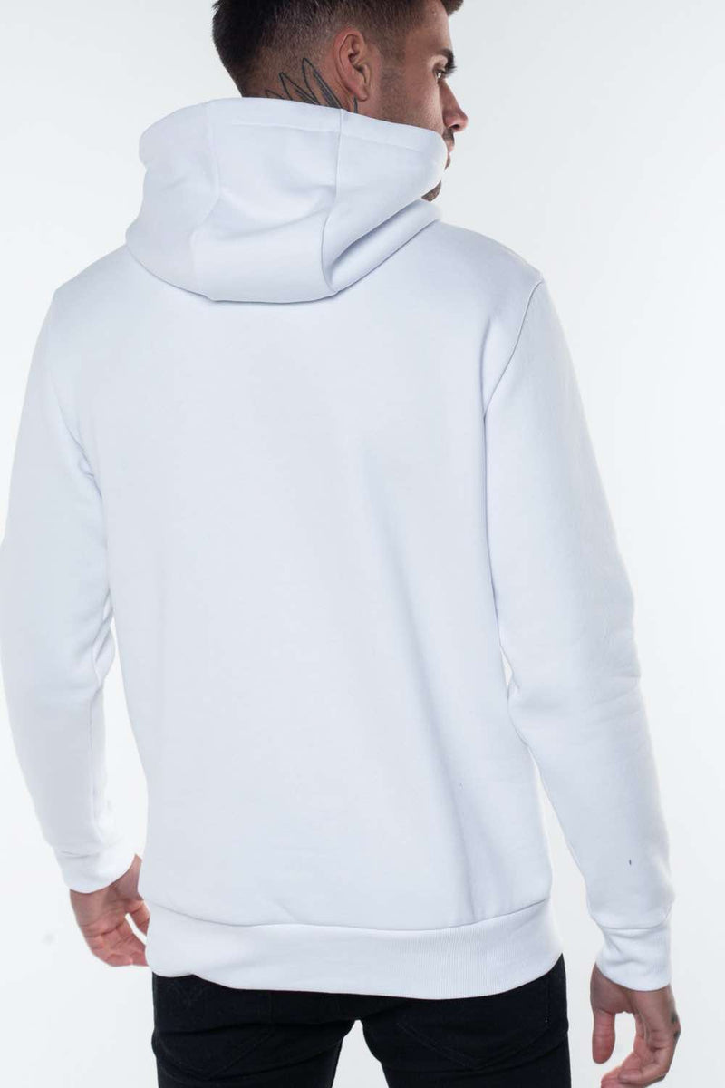 Fresh Couture Flash Reflective Hoodie -  White - 3