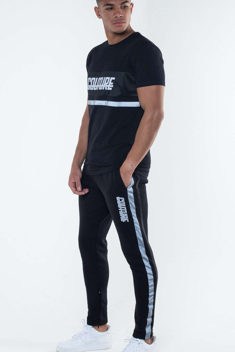 Fresh Couture Flash Reflective Joggers - Black - 3