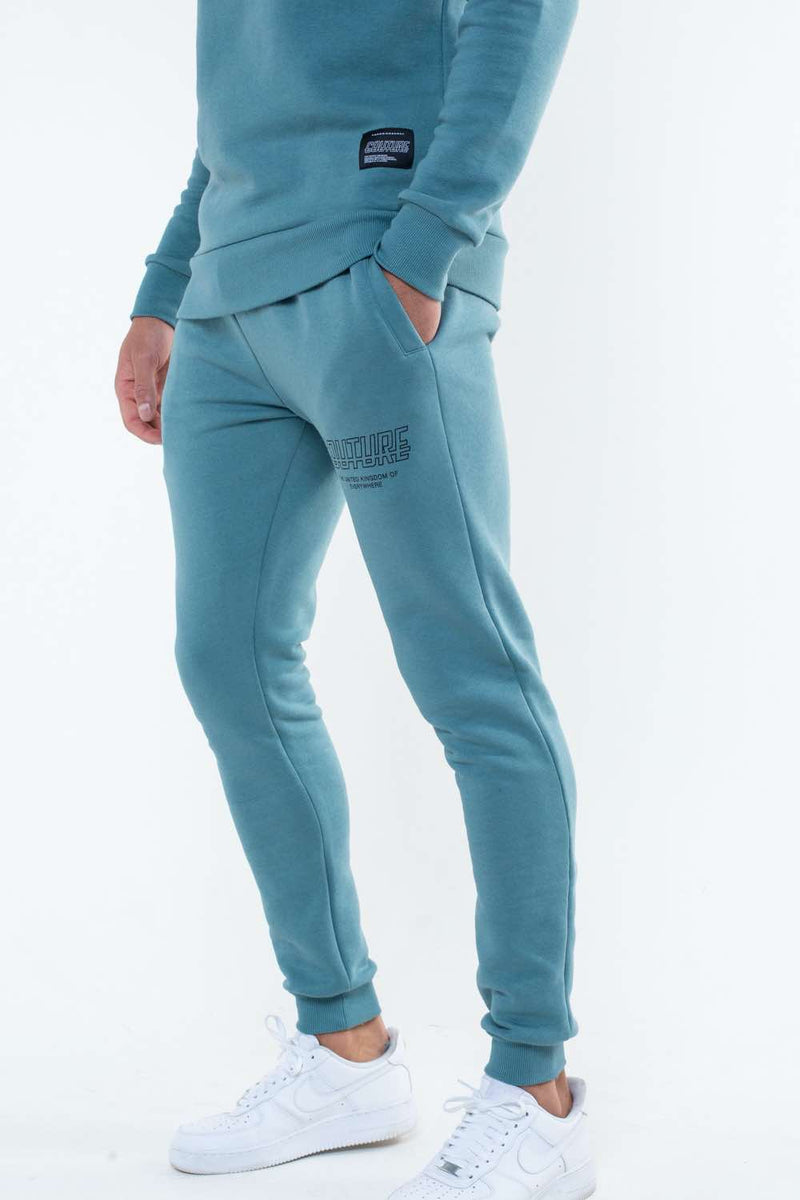 Fresh Couture Flux Joggers - Teal - 1