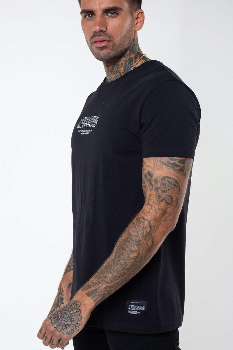 Fresh Couture Flux T Shirt -  Black - 2