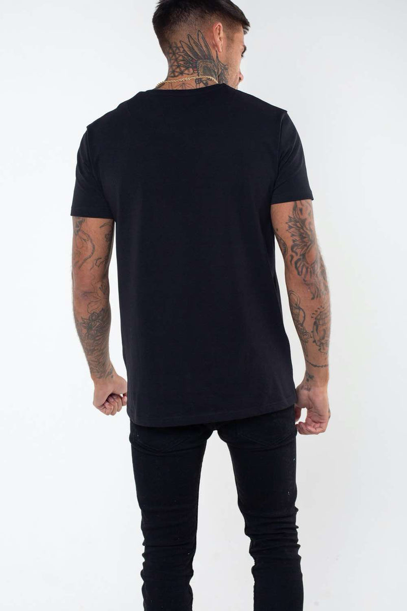 Fresh Couture Flux T Shirt -  Black - 3