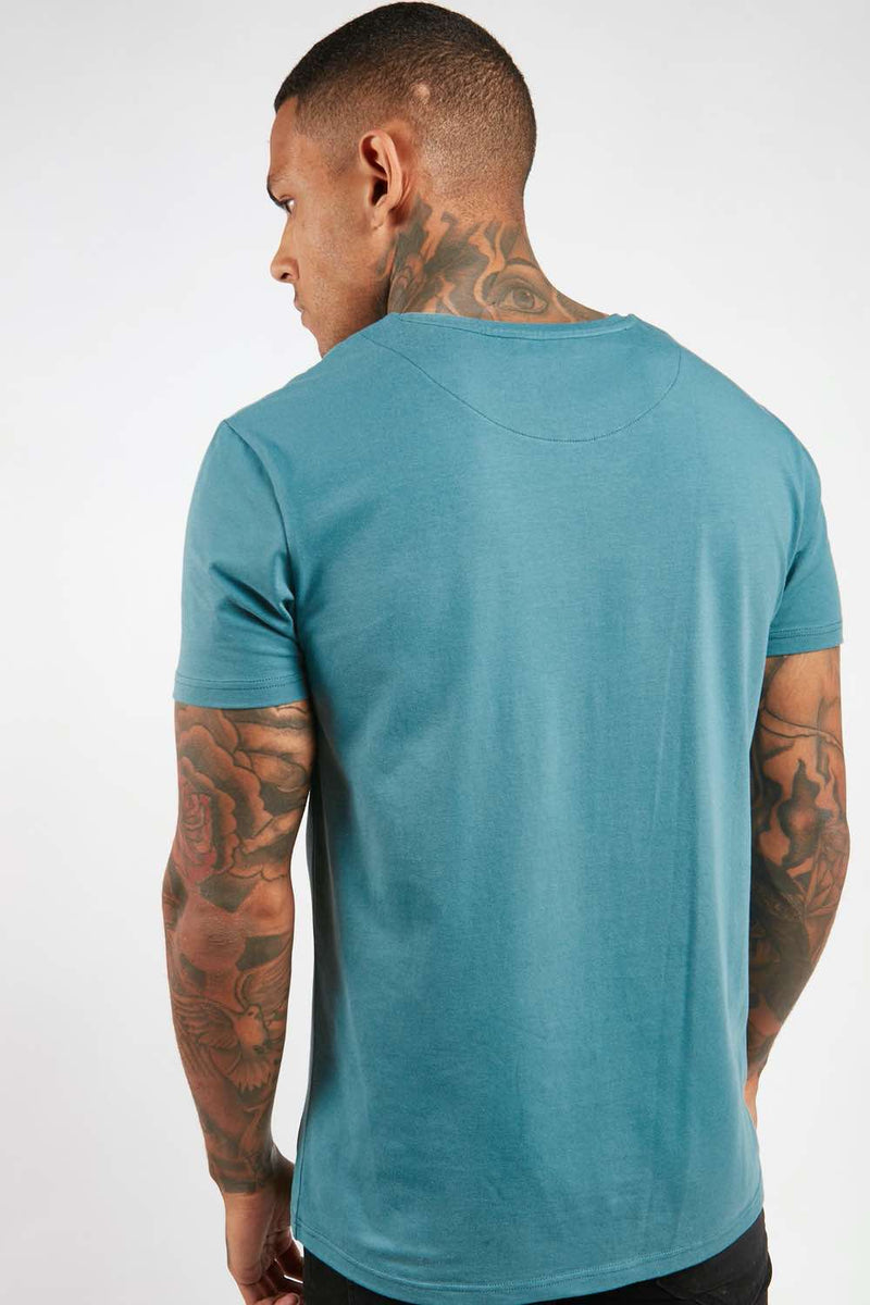 Fresh Couture Flux T Shirt - Teal - 3